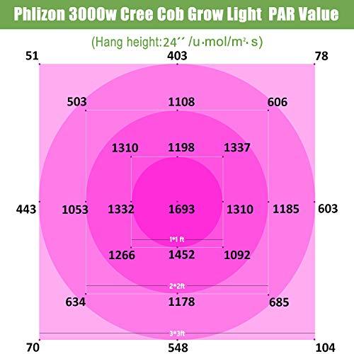 Phlizon CREE COB 3000W