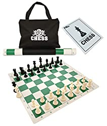cheap Play Best Value Tournament Kit with Green Vinyl Board, Plastic Elements and Bags
