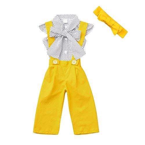 KEERADS KIDS été T Shirt sans Manches à Pois pour Filles et Tout Petits, Tout Petit pour bébé 1 2 3 4 5 6 7 9 Ans Les magasins Ont