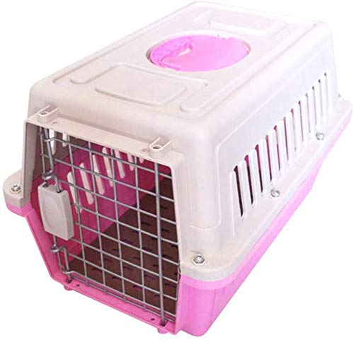 wyfdm Besbomig Transportbox für Hunde und Katzen, Transportbox aus Kunststoff, von der...