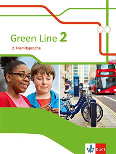 Green Line 2. 2. Fremdsprache: Schülerbuch Klasse 7 (Green Line. Ausgabe 2. Fremdsprache ab 2018)