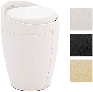 Amazon.fr : tabouret salle de bain - Blanc