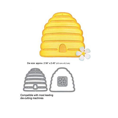 Bijen en bijenkorf metalen snijden Dies nieuwe 2019 voor Scrapbooking kaart maken decoratieve album reliëf ambachten stencil, bijenkorf snijden Dies,Verenigde Staten