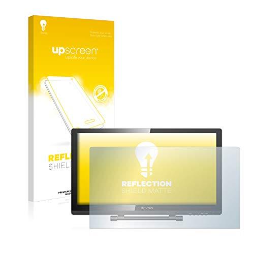 upscreen Entspiegelungs-Schutzfolie kompatibel mit XP-Pen Artist 22 Pro – Anti-Reflex Displayschutz-Folie Matt