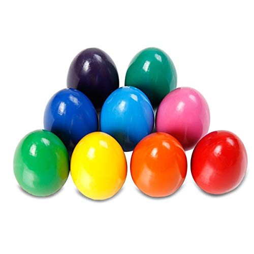 MARSACE プリモモくれよん 幼児用くれよん お絵かき学習用パズル 卵型クレヨン 安全無毒くれよん 9色