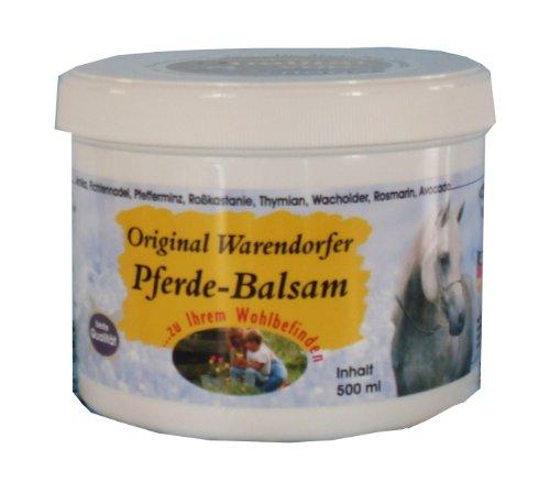 Original Warendorfer Pferdebalsam Pferdesalbe - kühlt - entlastet (500ml)