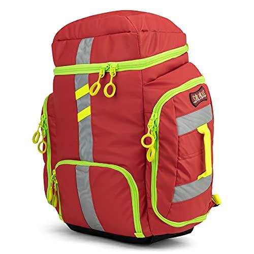 Statpacks G3 Clinician, Red EMT Jump Bag for Medics, Pack, Ergonomic,...