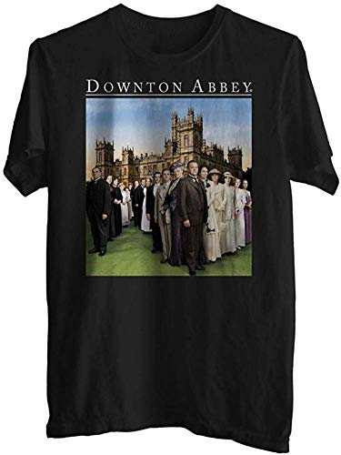 Downton Abbey Family Full Cast Adult T Shirt,T-Shirts & Hemden(XX-Large)
