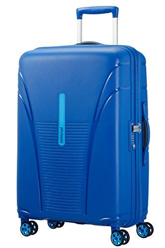 American Tourister Skytracer Spinner Maleta, 68 cm, 63 Litros, Color Azul