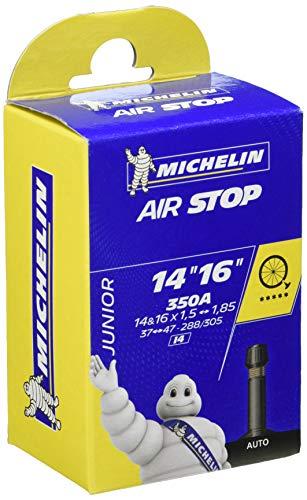 Michelin de 14''-16''x1.5-1,85 valvula moto, negro