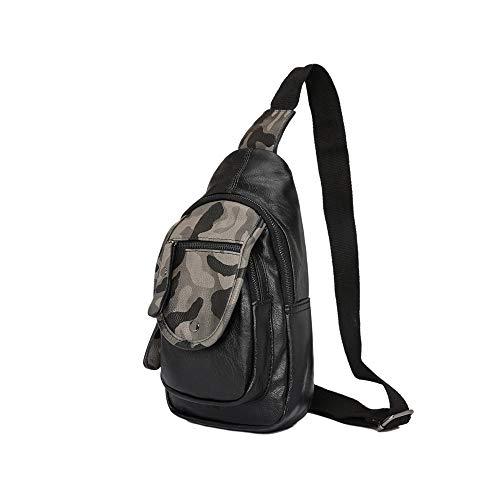 HAOHAOCHENG-WL Camouflage Borstzak Schoudertas voor heren, multifunctionele sport- en vrijetijdstas, kleine rugzak, comfortabel