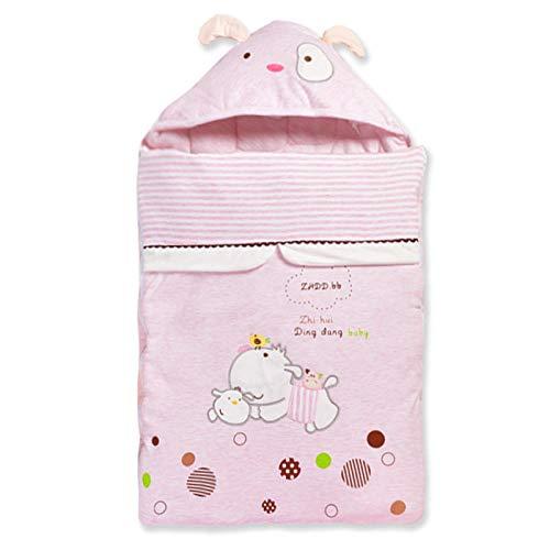 Saco de dormir para bebé unisex 0-12 meses manta sobre algodón todo el año universal multifuncional suave cálido cochecito de bebé envuelto recién nacido Swaddle