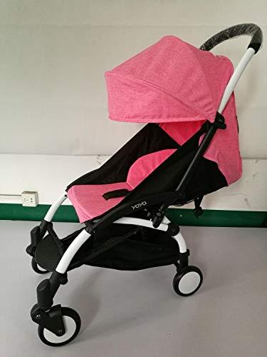 HUKN Actualizar Baby Yoya Stroller Coche Portátil Plegable Cochecito de bebé Ligero PRAM BEBÉ Carruaje BabyZen Yoyo Cochecito (Color : 20)