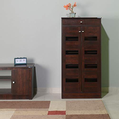 Nilkamal Murano Shoe Cabinet (Walnut)