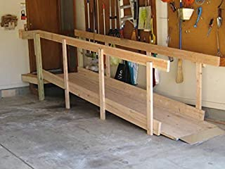 Palmer DIY Wheelchair Ramp Kits - (up to 16' Long, Assembly only, Simplest Design on Internet, Build ramp in 2hr)