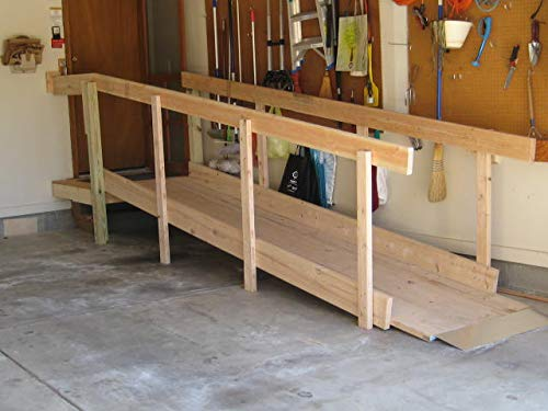 Palmer DIY Wheelchair Ramps - Our Kit, Your Wood, 2hr Build