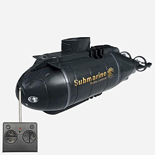 QHYZRV Barco Submarino Recargable RC Barco RC Submarino Control Remoto Electrónico Impermeable Juguete De Buceo para Regalo Infantil Piscina Pecera