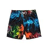 Pantalones De Playa De Traje De BañO con Forro Triangular De Tendencia De Verano para Hombre