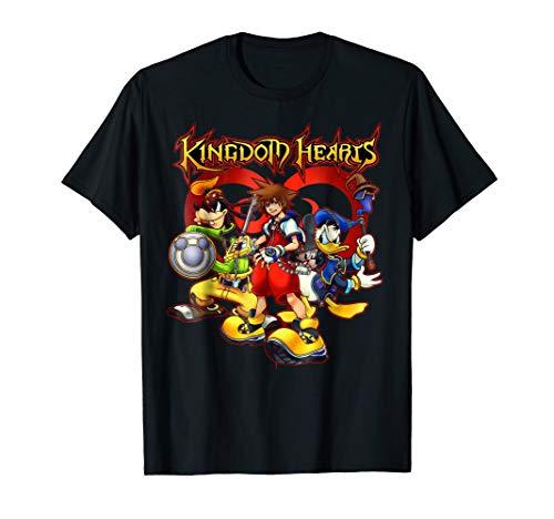 Disney Kingdom Hearts Team Ready T-shirt