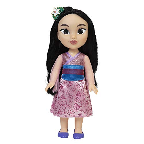 "Disney Princess My Friend Mulan Doll 14"" Tall Includes Removable Outfit and Hairpiece"