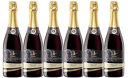 Winzerkeller Hex vom Dasenstein Kappelrodeck traditionelle Flaschengärung Pinot Noir Sekt trocken (6 x 0,75L)