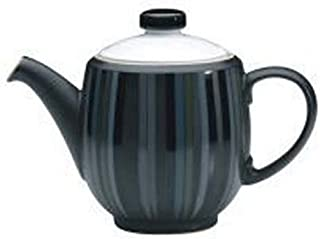 Denby Jet Stripes Large Teapot