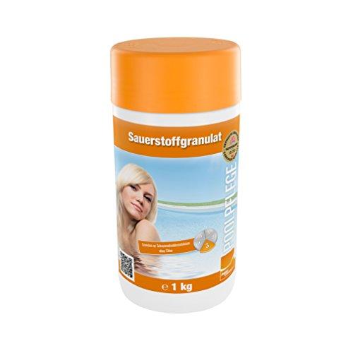Steinbach Poolpflege Sauerstoffgranulat, 1 kg, Aktivsauerstoff, 0756001TD08