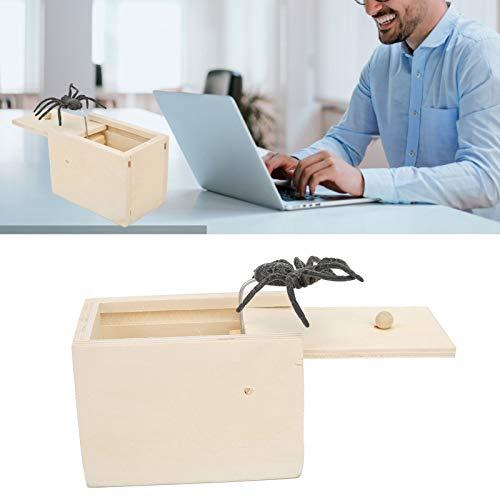 Hilarious Scare Box, Spider Scare Box Robust för vuxna för hemmet