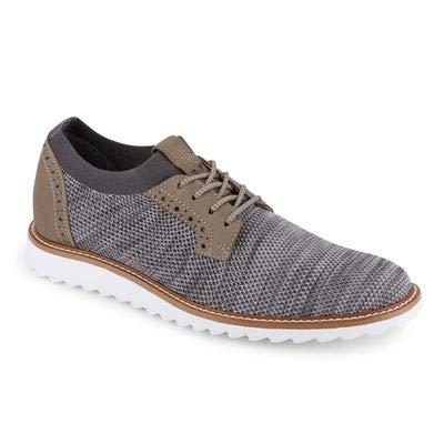 Dockers Men's Feinstein Oxford, Grey Knit/Leather, 13