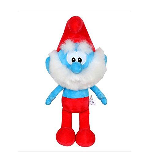 "Smurfs Papa Smurf, Stuffed Animals Plush Toy for Kids Room Decoration 15"""