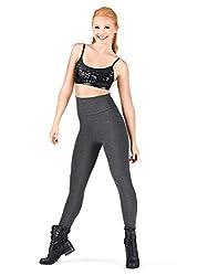 Natalie Dancewear Adult Cotton High Waist Leggings N8809