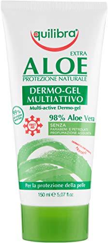 Equilibra Corpo, Aloe Dermo-Gel, Gel Lenitivo a...