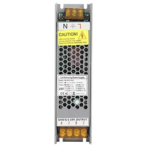 Schaltnetzteil,HRS-60-24 PWM 24V 0-2,5A 60W LED Dimmstromversorgung Einstellbarer LED Treiber,Eingangsspannung:170-264VAC, für Beleuchtungssteuerung von 24V LED-Leuchten oder Lichtbändern
