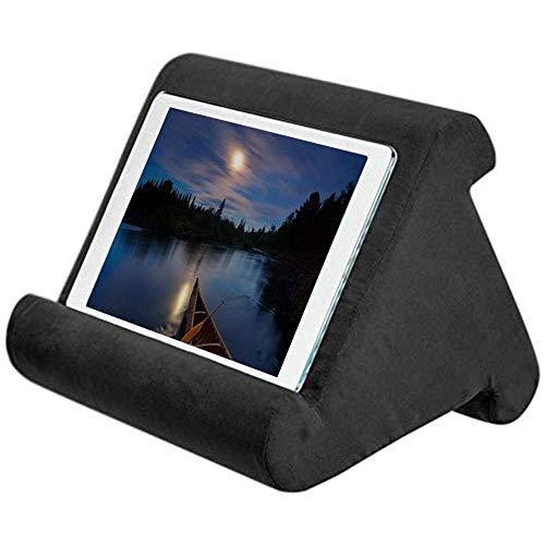 Linghuang Tablet Pillow Pad kussen, boekensteun, bank, tablet, laptophouder, houder voor Kindle iPad Air Tablet elektronische smartphones zwart.