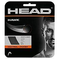HEAD Hawk テニスストリングセット 18g グレー