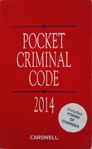 Pocket Criminal Code 2014