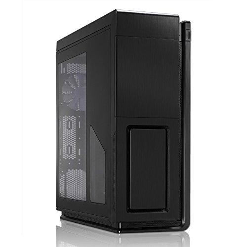Phanteks Enthoo Primo Ultimate - Caja de Ordenador de sobremesa (Altavoces incorporados, 5 Compartimentos Frontales y 6 internos, 4 x USB), Negro