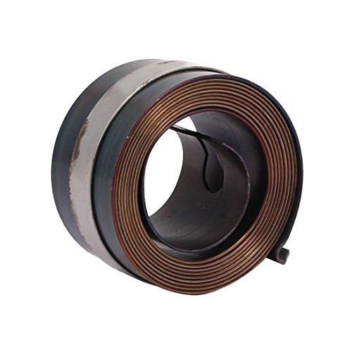 YeVhear 25 mm de ancho automático, taladro prensado pluma alimentación retorno muelle helicoidal gris
