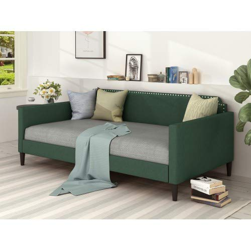 Polyester Twin daybed, Green