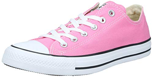 Converse Unisex Chuck Taylor All Star Ox Low Top Classic Pink Sneakers - 10.5 B(M) US Women / 8.5 D(M) US Men