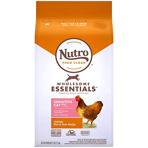 Nutro Wholesome Essentials Indoor and Sensitive Digestion Dry Cat Food