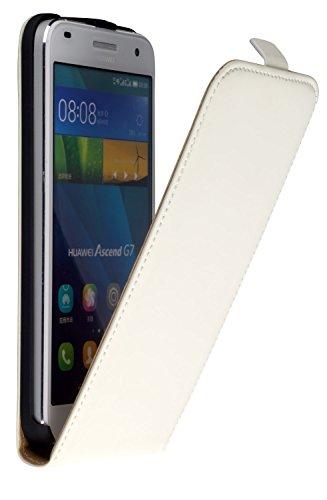 yayago Flip Hülle für Huawei Ascend G7 Tasche