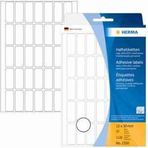 HERMA Vielzweck-Etiketten 12x30mm weiß VE=1120 Stück