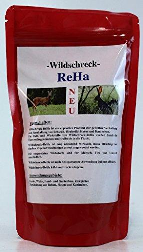 Wildschreck Reha - Vergrämungsmittel Rehwild / Hasen etc / Grundpreis 1000 Gr. 76,53 €
