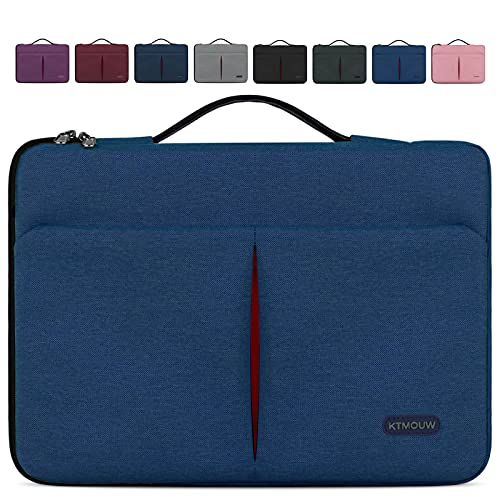 KTMOUW Funda Portatil 15-15,6 Pulgadas Funda Ordenador Notebook Impermeable Bolsa pc Portátil Maletín per MacBook Pro, HP, ASUS, Lenovo, Huawei, DELL