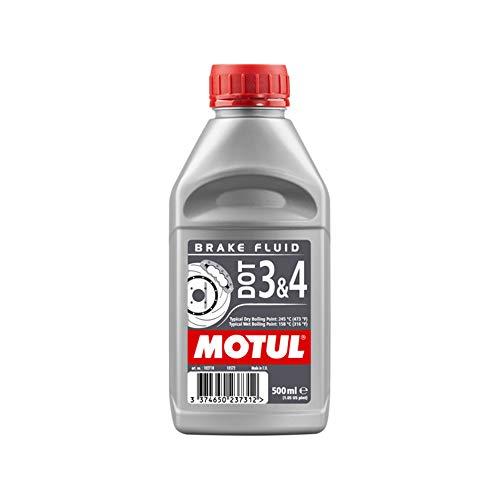 MOTUL Liquide de Frein DOT3/DOT4 500ml (bidon)