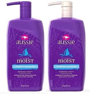 Shampoo Aussie Moist 865ml + Condicionador Aussie Moist 865m