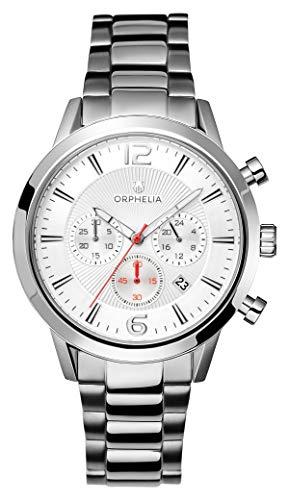 ORPHELIA HerrenArmbanduhr Chronograph Quarz Edelstahl OR82806