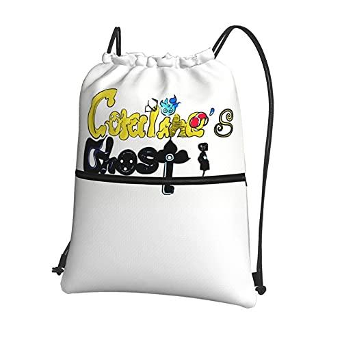 Co-raline - Bolsa de deporte con cordón para gimnasio, mochila ligera para hombres y mujeres