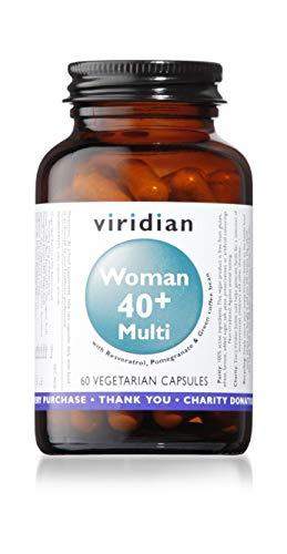 Viridian Woman 40plus Multi 60 Veg Caps